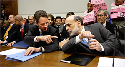 Tim Geihtner and Ben Bernanke